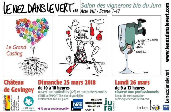 8ème Salon des vignerons bio du Jura